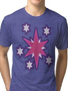 Neon Sparkle Tri-blend T-Shirt