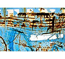 Blue Industry Photographic Print