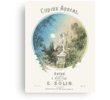 CUPIDS APPEAL (vintage illustration) Canvas Print