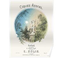 CUPIDS APPEAL (vintage illustration) Poster