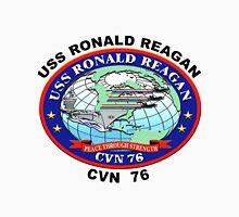USS Ronald Reagan (CVN-76) Crest Unisex T-Shirt