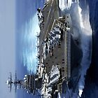 Aircraft carrier iPhone cases 4/4s by RLdesigns