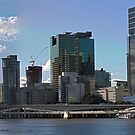 Brisbane from Southbank (I-i) by AHakir