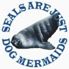 Seals are just Dog Mermaids by portiswood