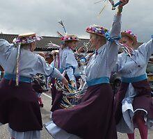 Kettle Bridge Clogs performing at the Chester Folk Festival by Matt Eagles