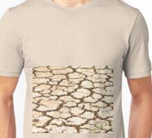 Cracked Mud. Unisex T-Shirt