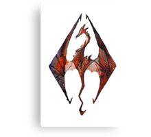 Skyrim Canvas Print