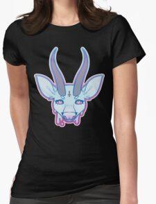 Pastel Deerphomet Womens Fitted T-Shirt