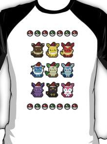 An Eeveelutionary Christmas T-Shirt