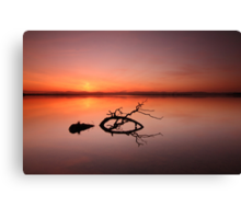 Loch Leven Sunset Canvas Print