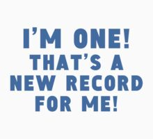 I'm One New Record One Piece - Short Sleeve