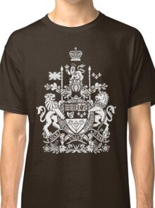 CANADA-COAT OF ARMS Classic T-Shirt