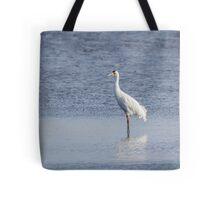 Adult Whooping Crane 2015-1 Tote Bag