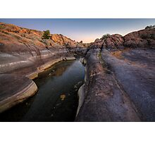 Wide and Narrow Photographic Print
