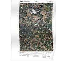 USGS Topo Map Washington State WA Lake Lawrence 20110405 TM Poster