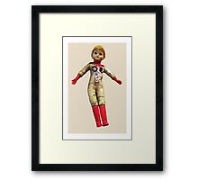 Interiority doll Framed Print