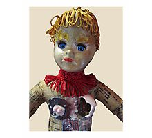 Interiority doll-head Photographic Print
