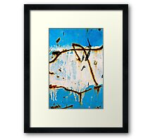 Swimming Up Rustic Streams Framed Print