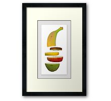 A fruit a day Framed Print