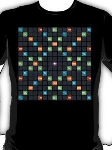 Blank word game board T-Shirt