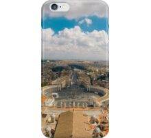 St Peter's Square, Vatican City iPhone Case/Skin