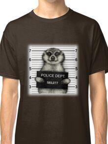 Meerkat Mugshot Classic T-Shirt