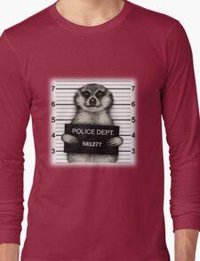 Meerkat Mugshot Long Sleeve T-Shirt