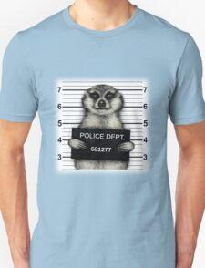 Meerkat Mugshot Unisex T-Shirt