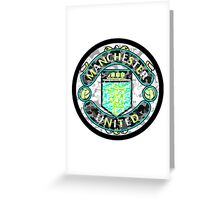 MANCHESTER WHITE Greeting Card