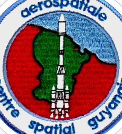 Guiana Space Centre Centre spatial guyanais (CSG) Logo Sticker