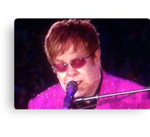 Sir Elton John Canvas Print