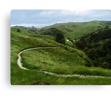 Epic Landscape Canvas Print