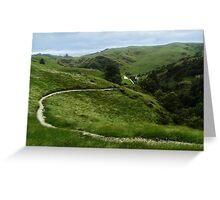 Epic Landscape Greeting Card