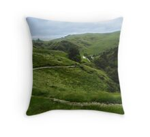 Epic Landscape Throw Pillow
