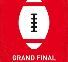 MY GRAND FINAL MINIMAL POSTER by Chungkong