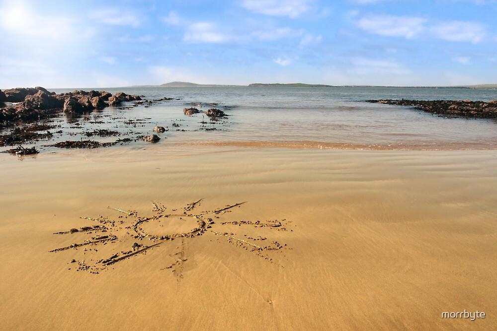 sunshine beach by morrbyte