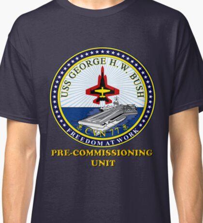 PCU George H.W. Bush Crest for Dark Colors Classic T-Shirt