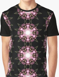 pink blast on Black Graphic T-Shirt