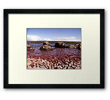 Low Down on Loch Ness Framed Print