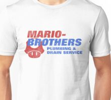 Mario Bros Plumbing Co. Unisex T-Shirt