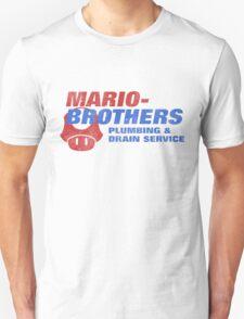 Mario Bros Plumbing Co. T-Shirt