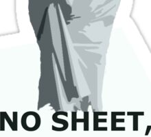 No sheet, Sherlock Sticker