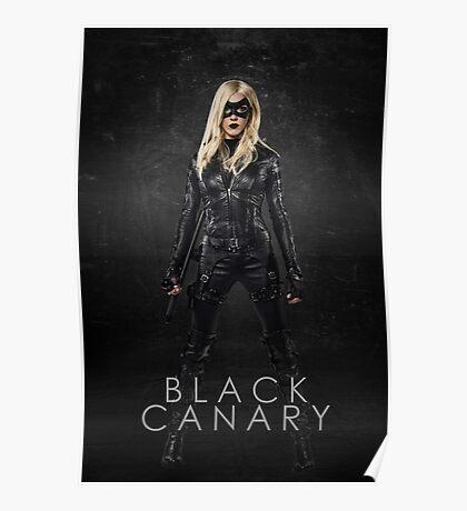 Black Canary | Laurel Lance | Arrow Season 3 Poster