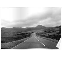 Deserted Snowdonia Poster
