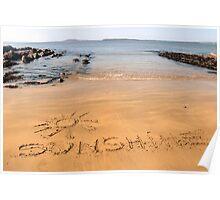 sunshine sands Poster