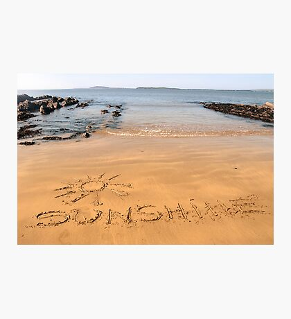 sunshine sands Photographic Print