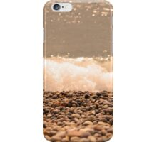 Pebbles By The Sea  iPhone Case/Skin