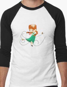 Inner Peace Men's Baseball ¾ T-Shirt