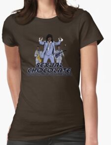 Sexual Chocolate Womens Fitted T-Shirt