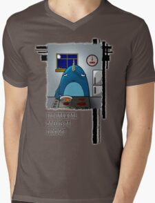 The Narwhal Bacons at Midnight Mens V-Neck T-Shirt